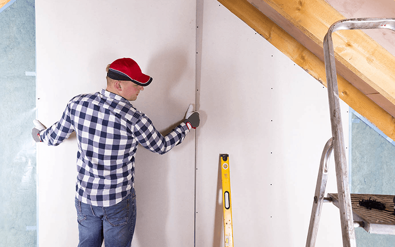 4 Common Colorado Construction Gypsum Wallboard Types